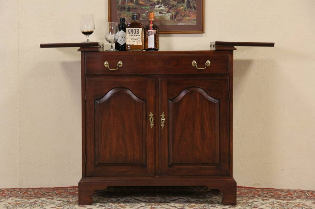 Sold Henkel Harris Virginia Gallery Vintage Bar Serving