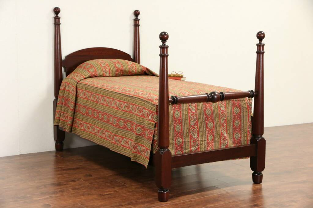 Antique Twin Poster Beds