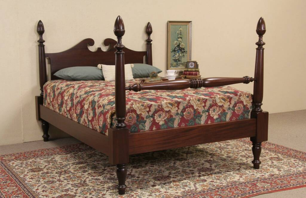 Sold Poster Bed Mahogany Queen Size 1900 S Antique