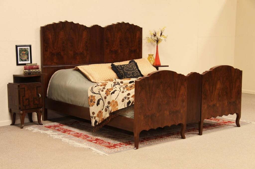 bed set furniture sold deco king size rosewood bed harp gallery 10252