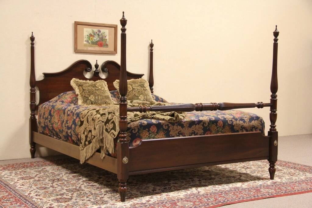 SOLD Beds - Harp Gallery Antiques