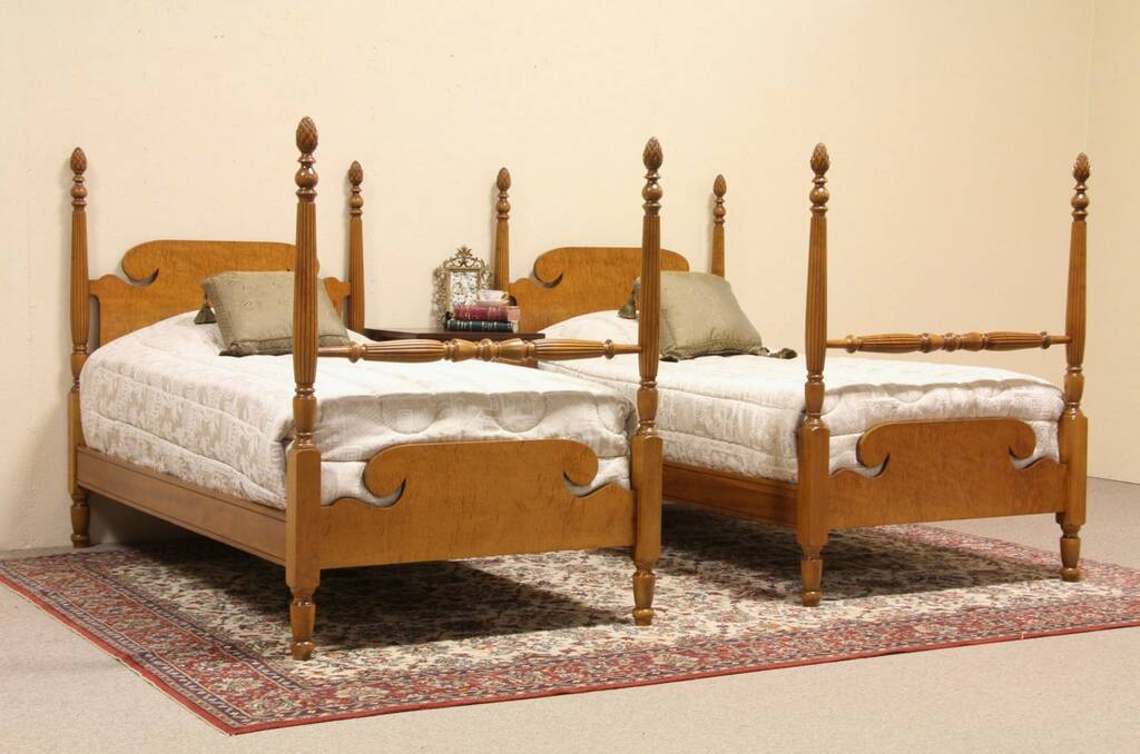 Pair Antique Single Beds Related Keywords & Suggestions