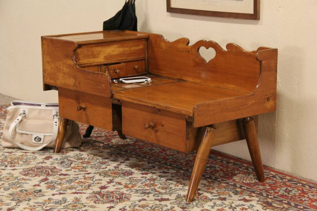 Sold Cobbler Or Shoemaker Bench Or Coffee Table Drexel