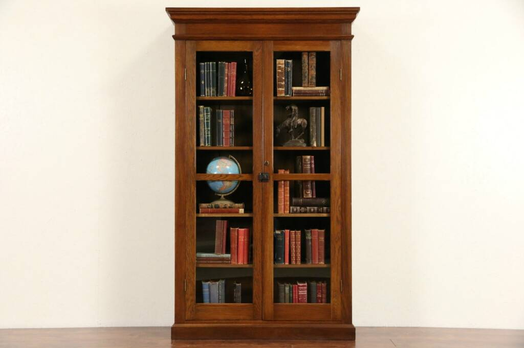 image result for wooden bookcases with gldoors - Wooden Bookcases