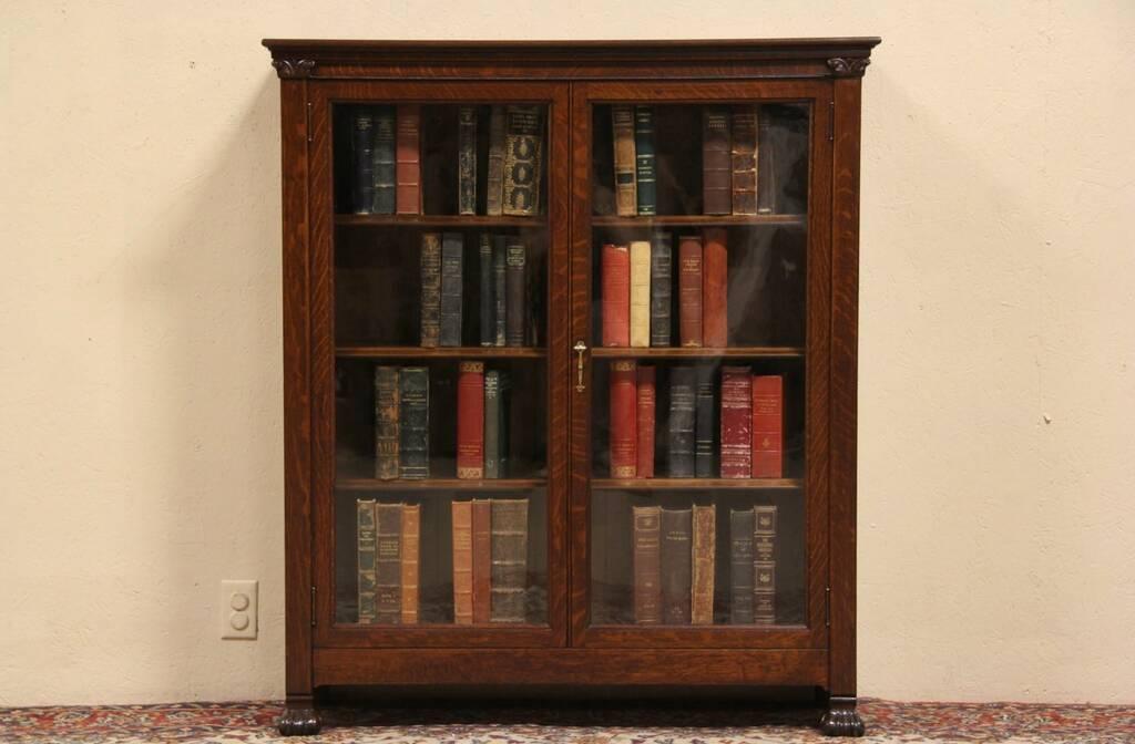 Original Make A Corner Bookcase With An Old Door  Interior Home Design