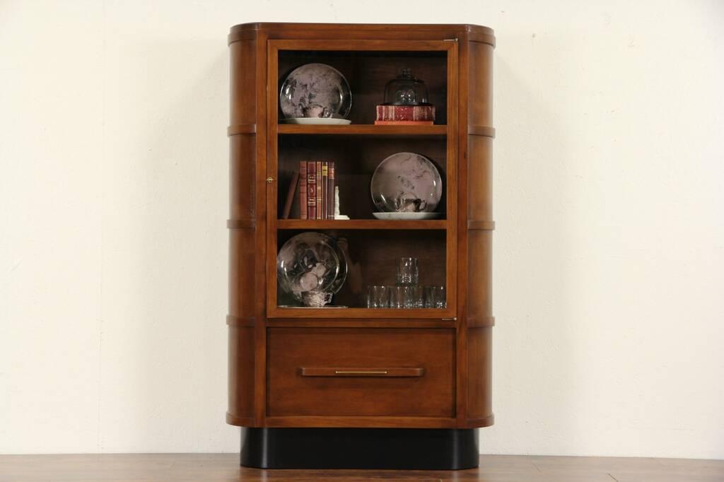 sold art deco 1935 vintage physician medical or bathroom cabinet harp gallery antique furniture. Black Bedroom Furniture Sets. Home Design Ideas