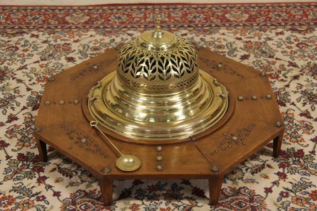 Sold Spanish Brazier Or Brazero Charcoal Footwarmer Or Heater Harp Gallery Antique Furniture