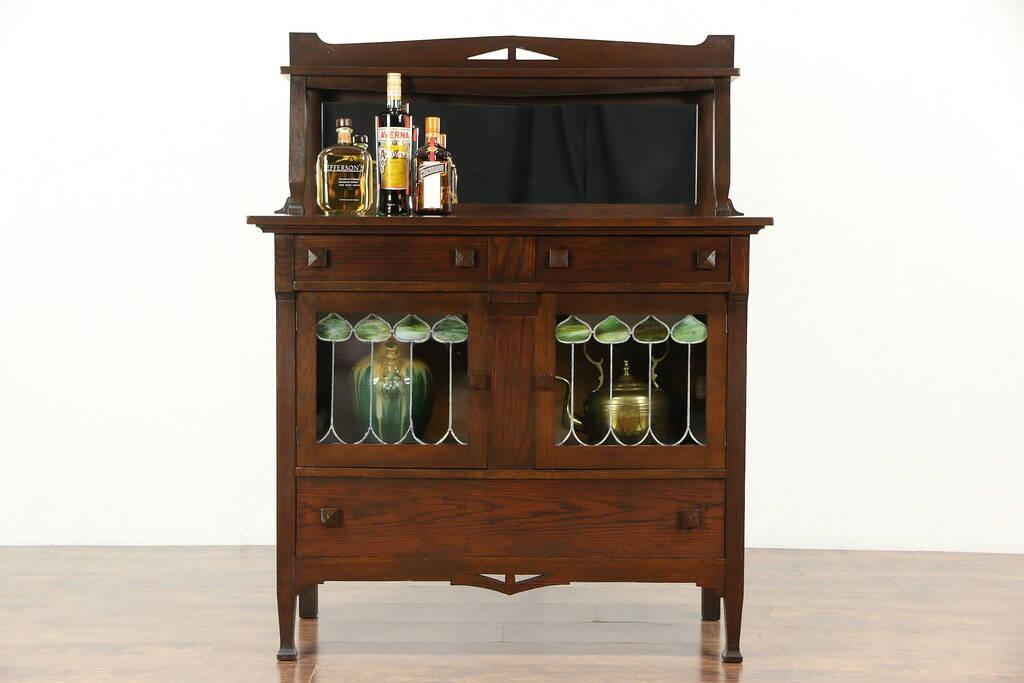 Sold arts crafts mission oak 1905 antique craftsman for Arts and crafts for sale