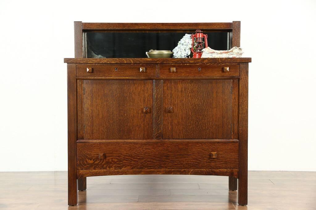 Sold Arts Amp Crafts Mission Oak Antique Craftsman