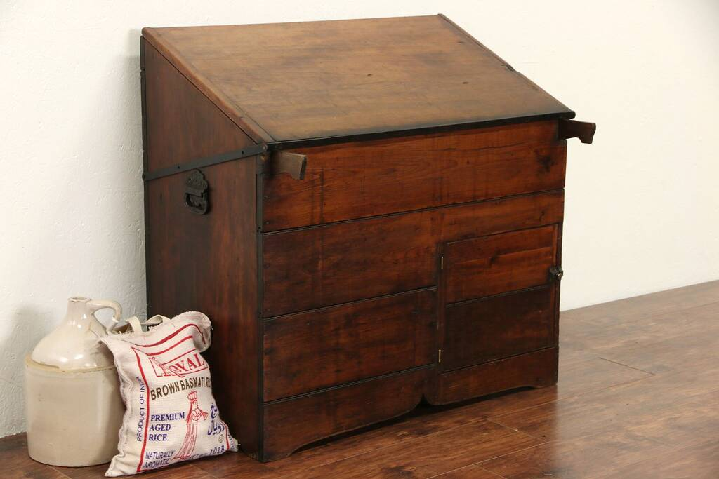 Sold Pantry 1890 S Antique Pantry Flour Bin Wood Box Or