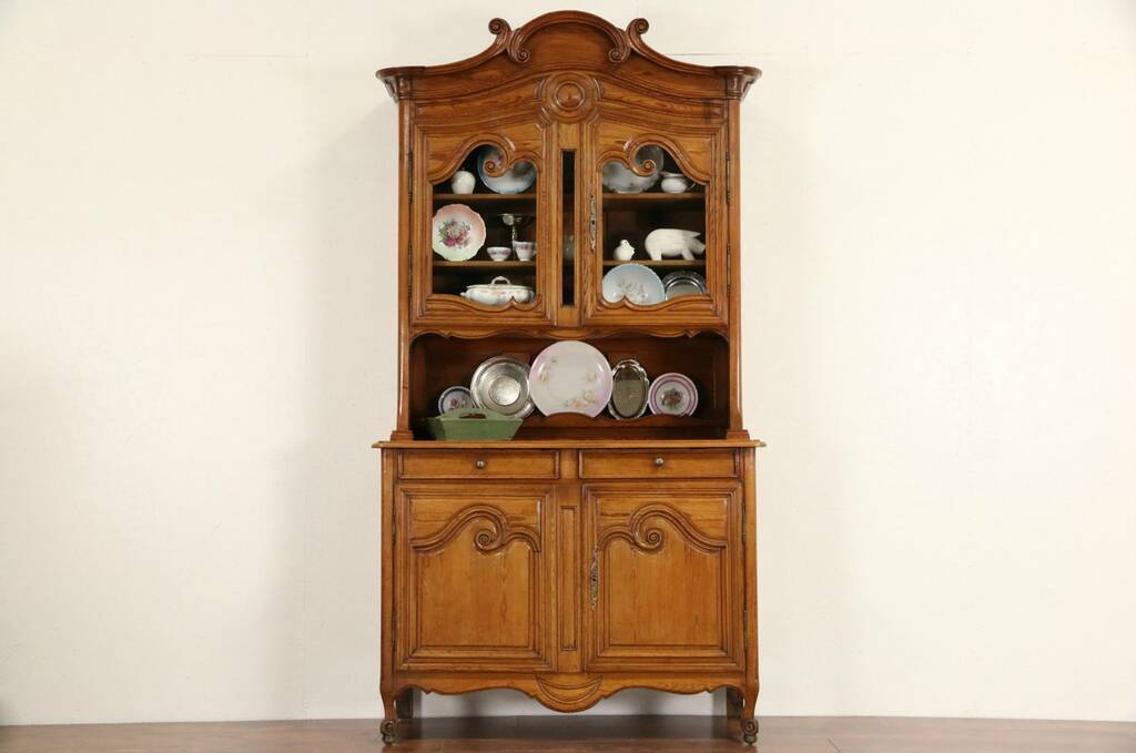 Sold Country French Provincial Pine 1870 Antique China