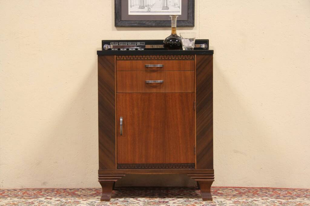 sold art deco hamilton 1935 physician medical cabinet harp gallery antique furniture. Black Bedroom Furniture Sets. Home Design Ideas