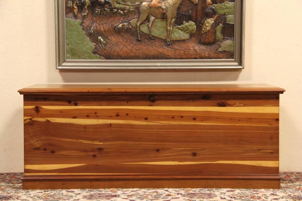 Sold Lane 1940 Vintage Cedar Blanket Chest Or Bench