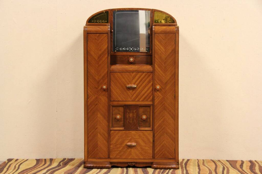 ... Dresser And Closet Combined By Sold Deco Waterfall Combination Closet  Desk ...