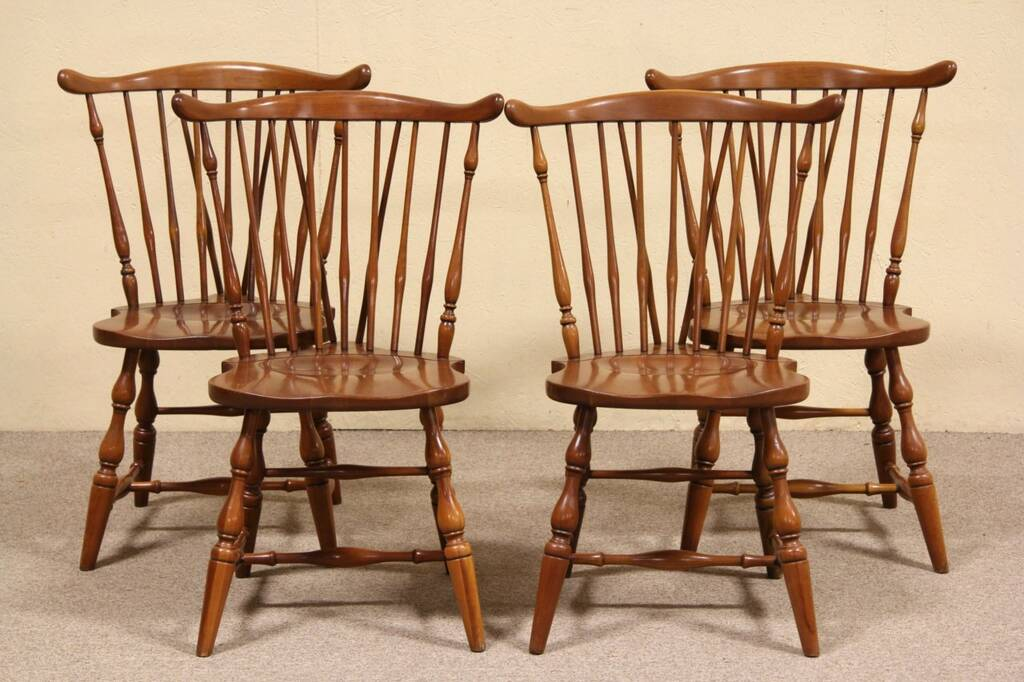 Sold Set Of 4 Pennsylvania House Vintage Cherry Dining
