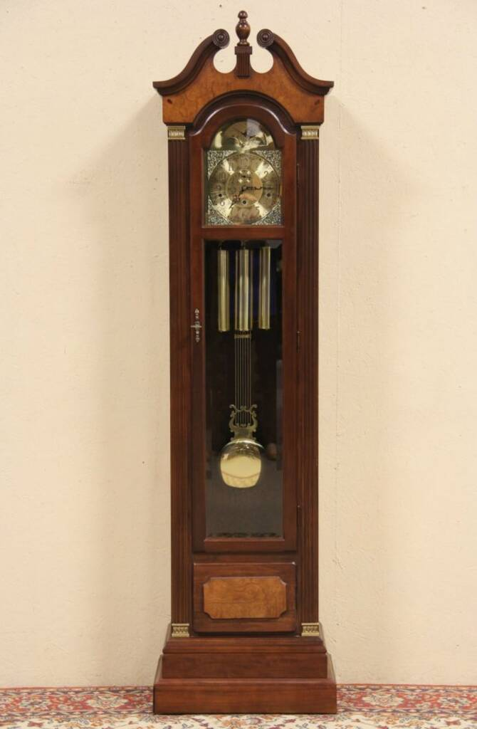 Sold Steinway Vintage Tall Case Grandfather Clock