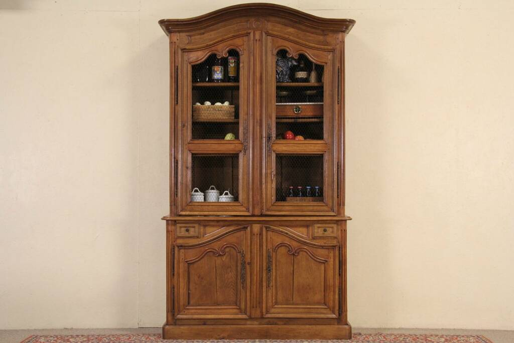 Sold Country French Oak 1800 39 S Antique Pantry Cupboard