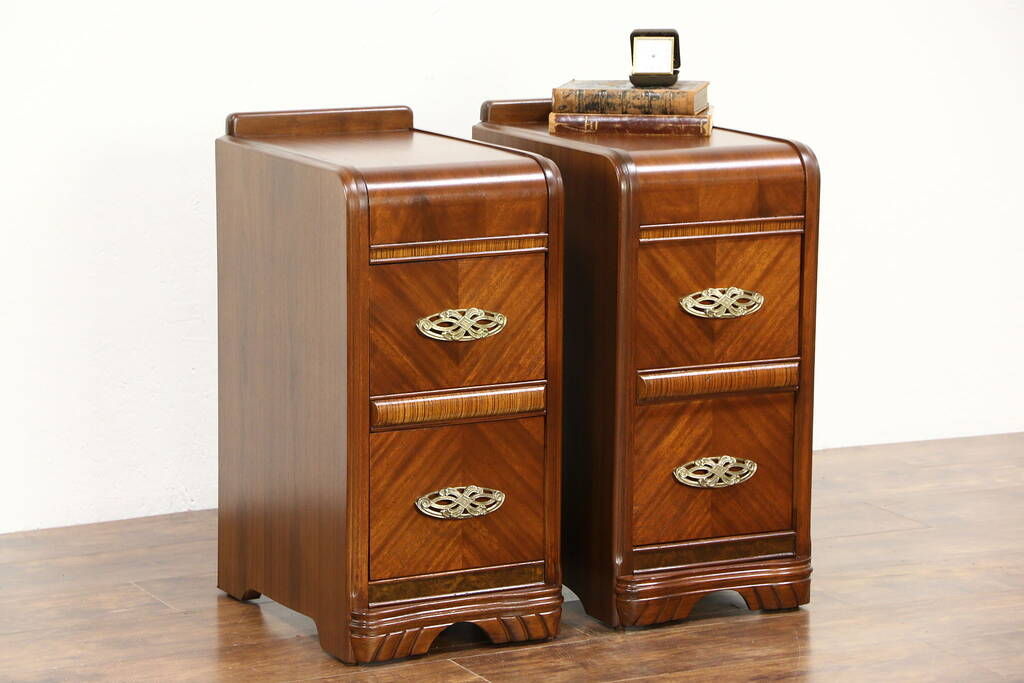 Vintage Maple Nightstands