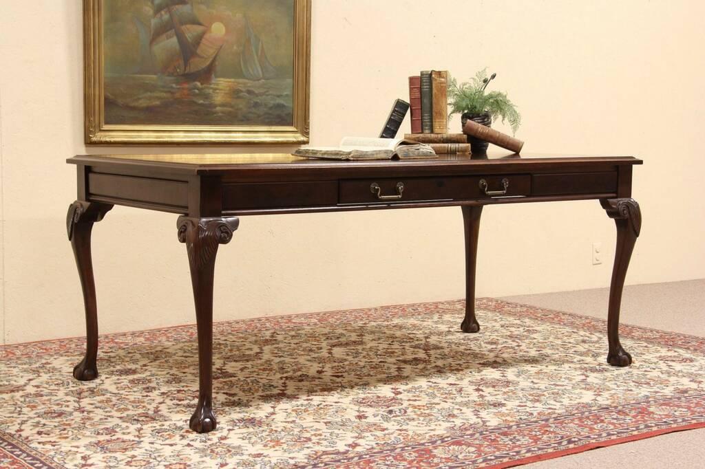 Sold Kimball Georgian Vintage Executive Writing Desk