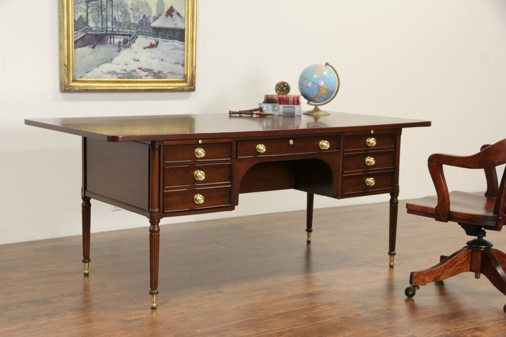 writing desk with file drawer Techni mobili modern writing desk with storage, espresso  with a moisture  resistant pvc laminate veneer two storage drawers and one hanging file  cabinet.
