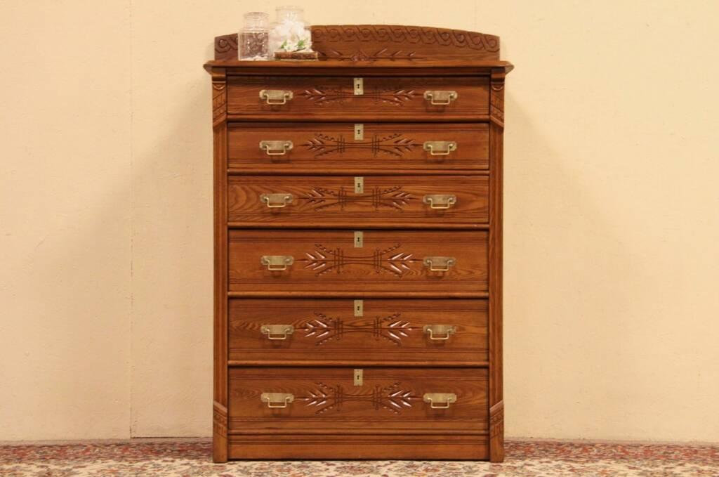 Image Result For Tall Solid Oak Dresser