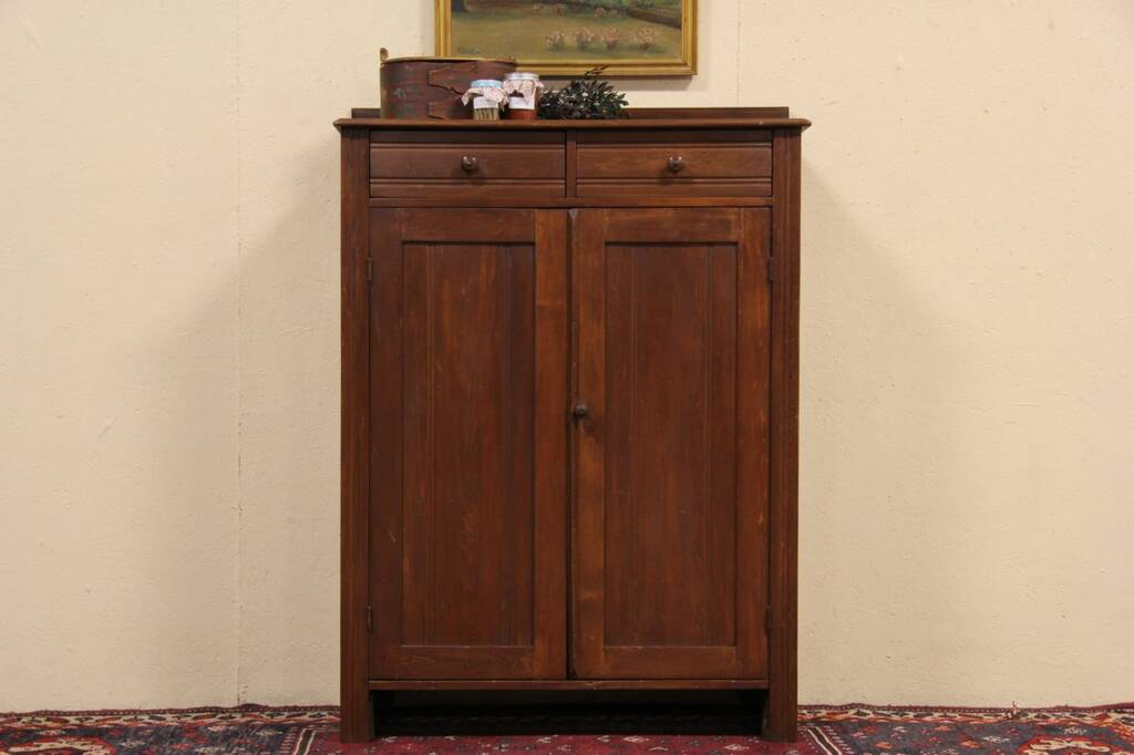 Country 1880 antique jelly or pantry cupboard ebay for 1880 kitchen cabinets