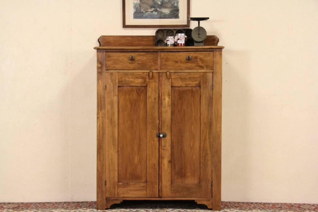 Sold Country 1890 39 S Antique Pantry Jelly Cupboard Harp
