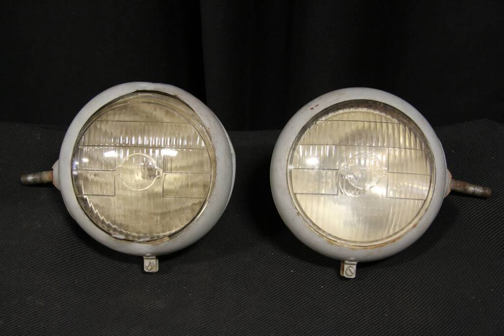 Deco Tractor Headlights : Sold pair of ford n tractor headlights with lenses