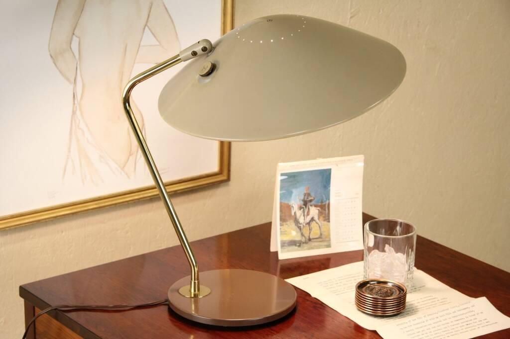 Sold Lightolier Midcentury Modern Flying Saucer Desk