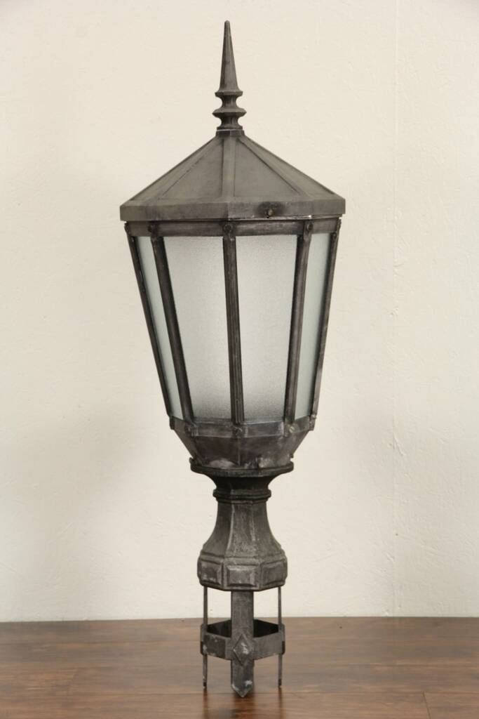 SOLD - New York City Salvage 1920's Antique Street Light ...