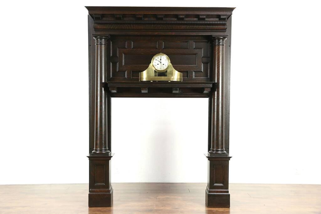 sold oak 1895 architectural salvage antique renaissance