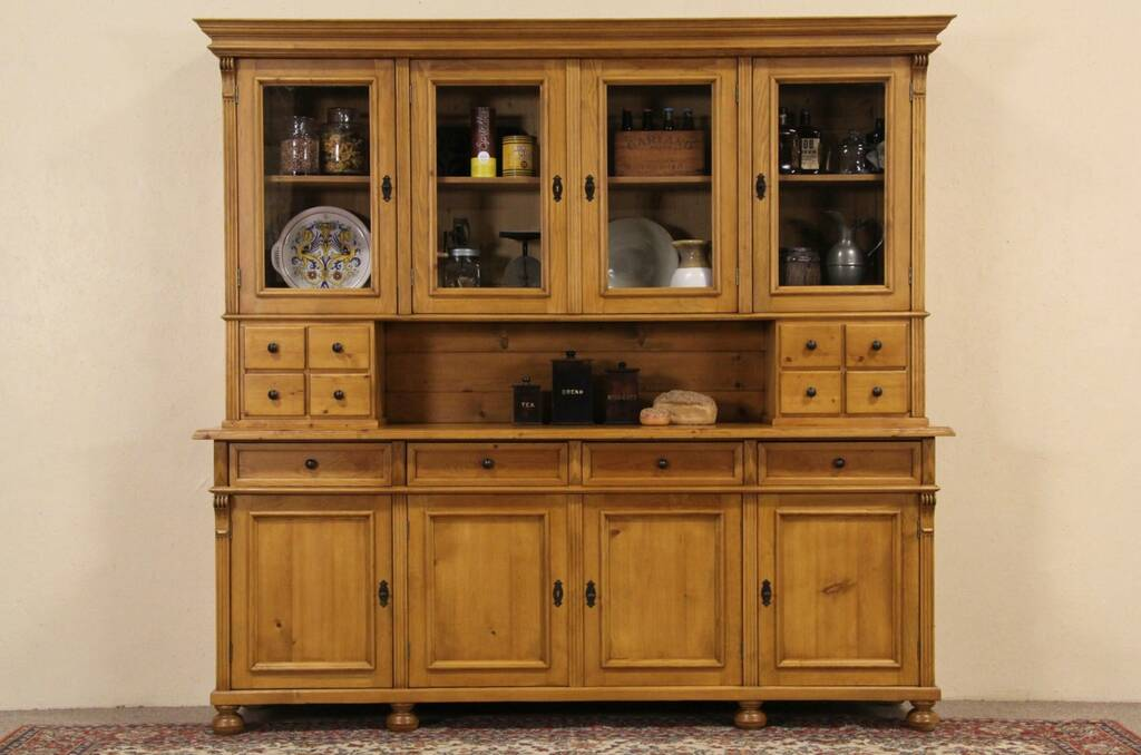 Sold Country Pine Pantry Cupboard 1890 Bohemian Antique