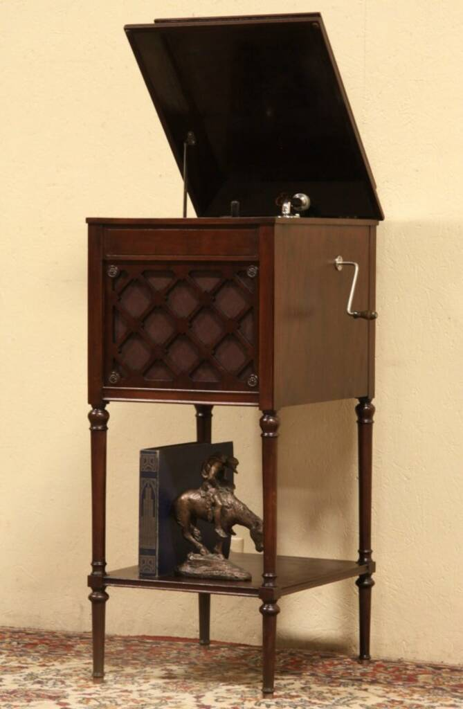 Sold Edison Phonograph Record Player 1915 Also Plays