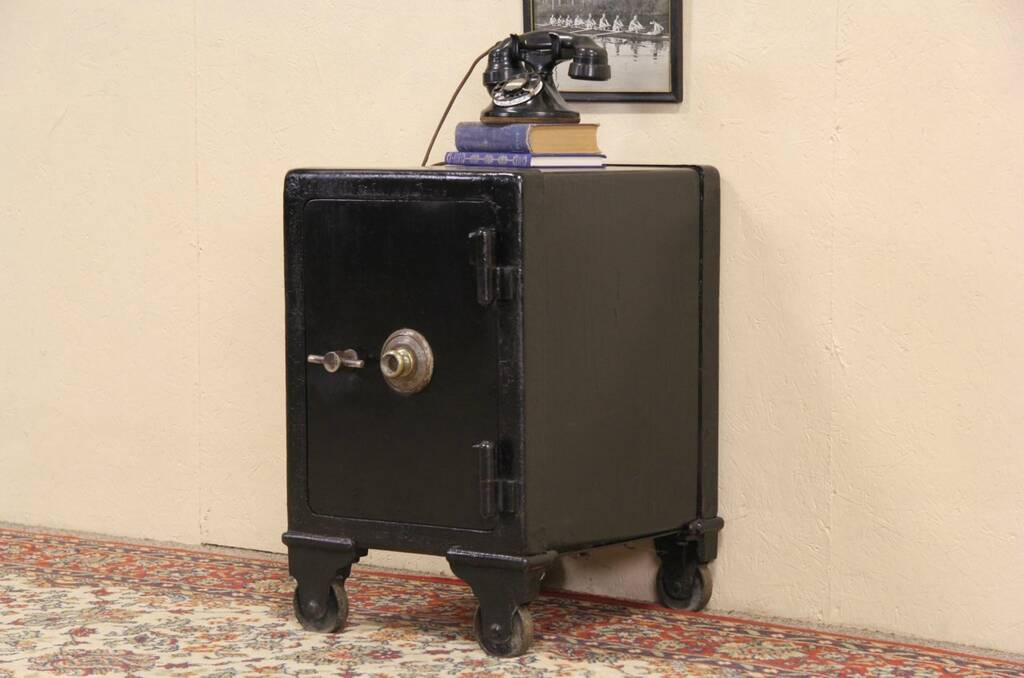 Sold Safe With Combination Lock Antique 1890 S Cast