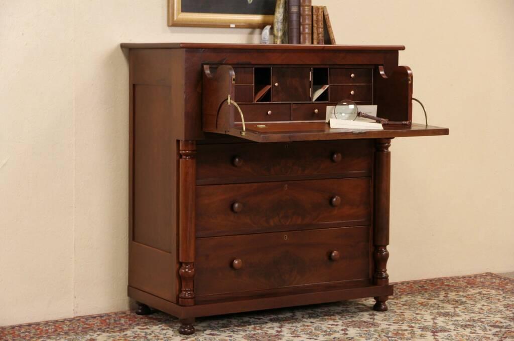 Sold Empire Cherry Amp Mahogany 1840 S Antique Butler
