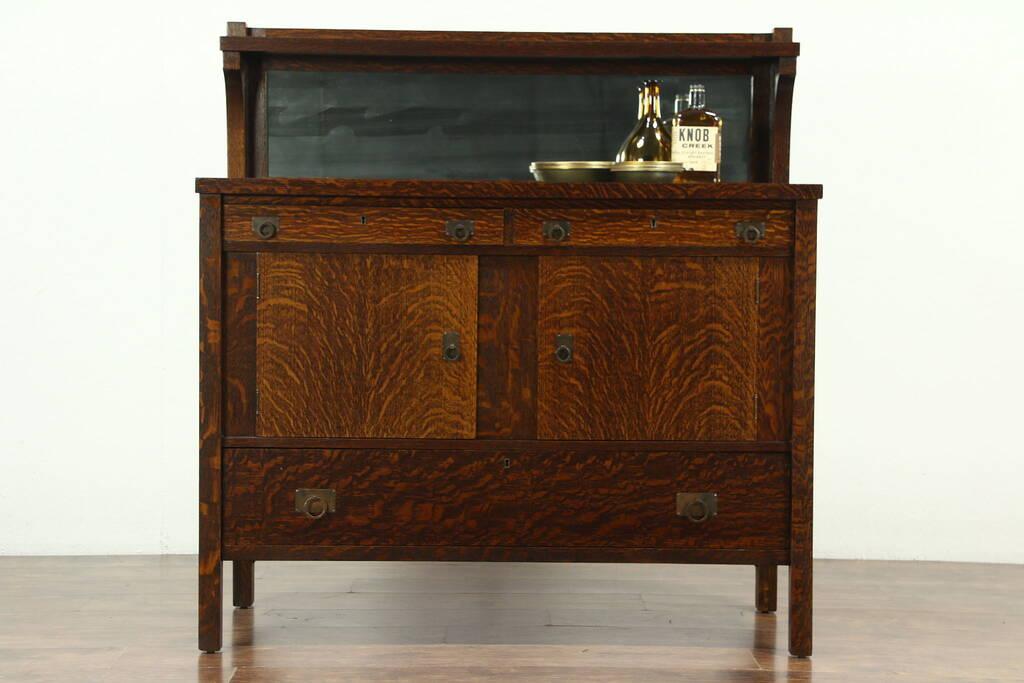 Sold Arts And Crafts Mission Oak 1905 Antique Craftsman