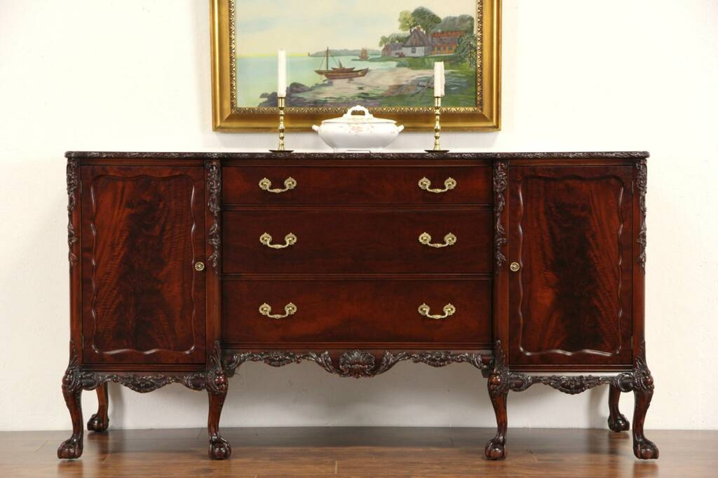 Sold Romweber Vintage Georgian Sideboard Server Or