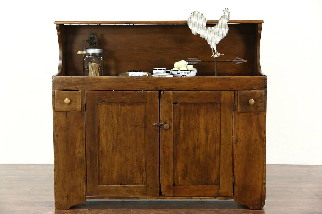 Sold Country Pine 1880 S Antique Primitive Kitchen Dry Sink Harp Gallery Antique Furniture