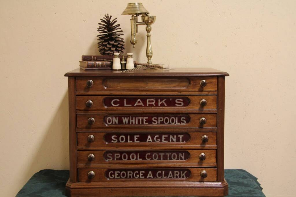 Eastlake Furniture For Sale ... Walnut Spool Cabinet Jewelry Chest - Harp Gallery Antique Furniture