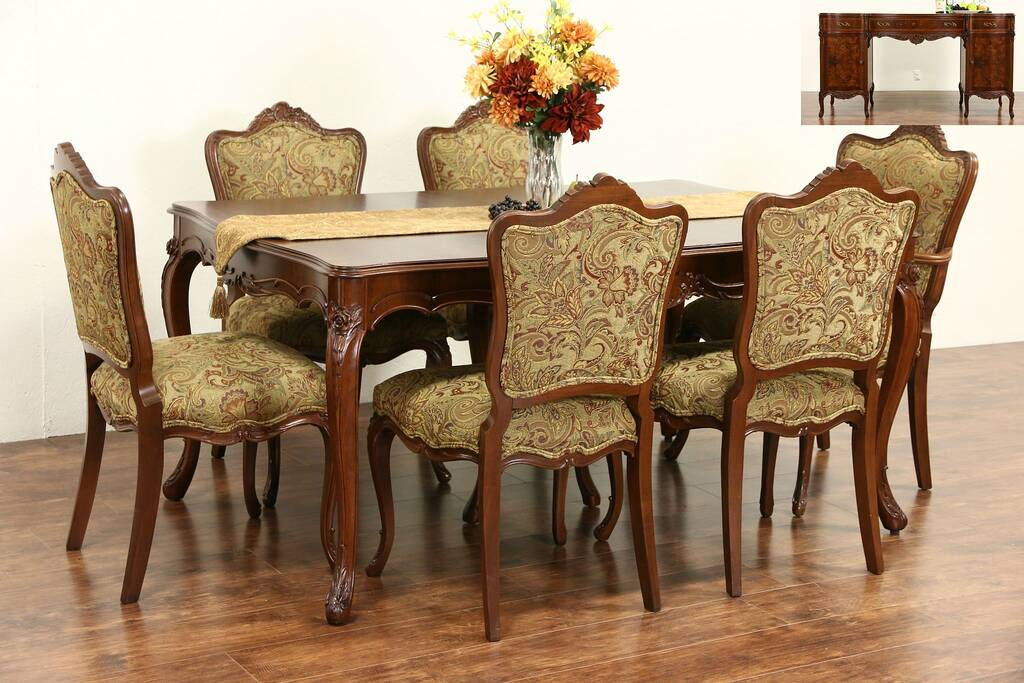 Sold Country French 1940 S Vintage Dining Set Table