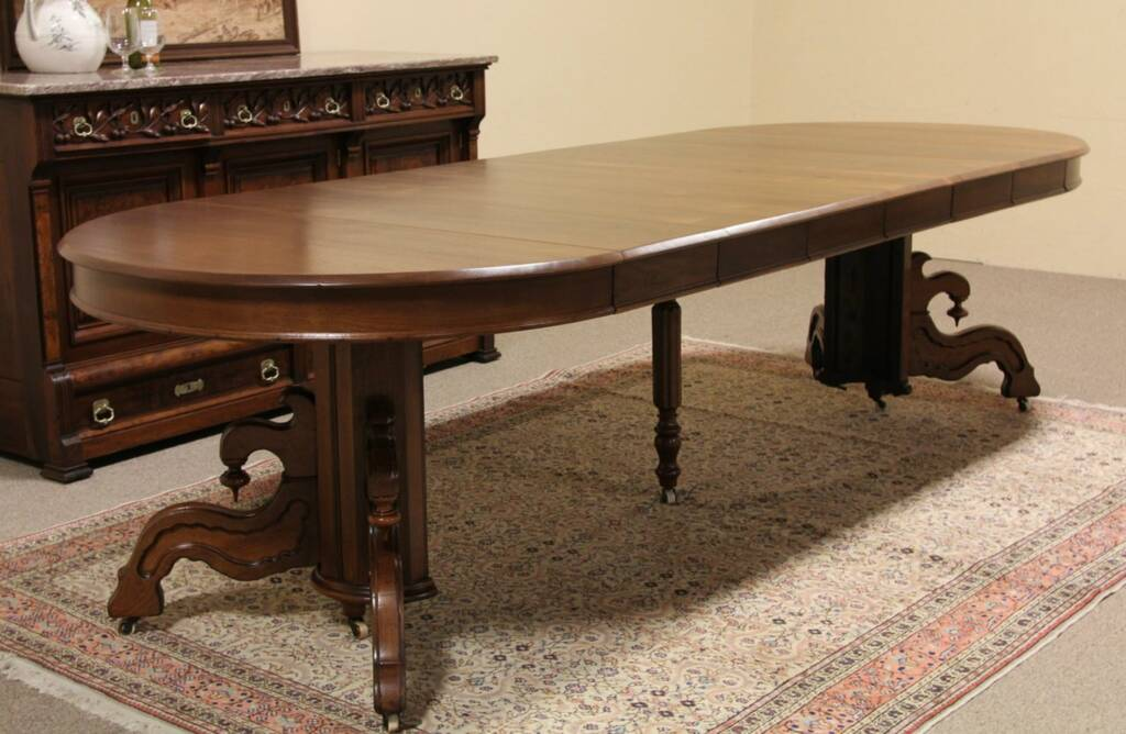 Dining Table Round Dining Table Extends