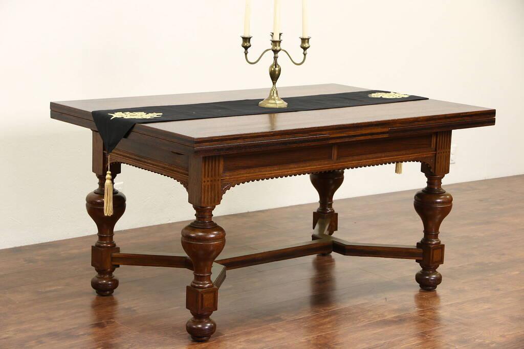 Sold Dutch Renaissance 1890 Antique Oak Amp Rosewood