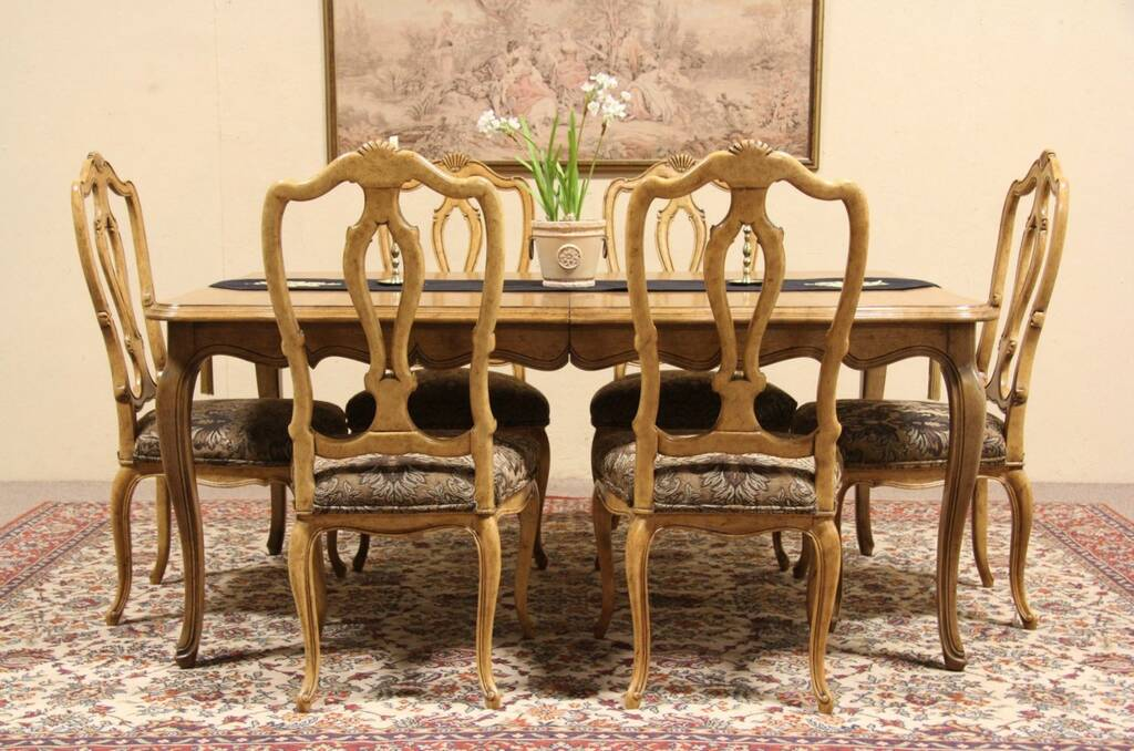 28 french country dining table set 19th century french coun