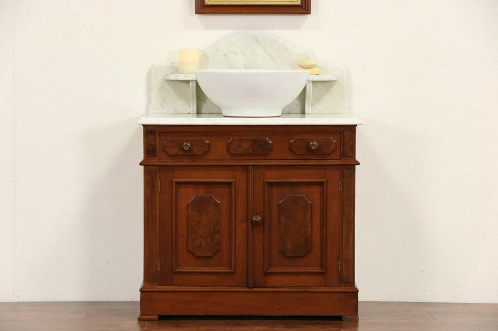 Sold Victorian 1870 S Antique Marble Top Washstand Bar