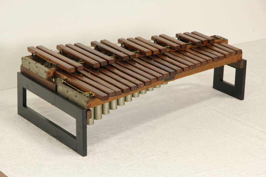 sold deagan chicago signed 3 octave xylophone musical instrument pat 1900 39 s harp gallery. Black Bedroom Furniture Sets. Home Design Ideas