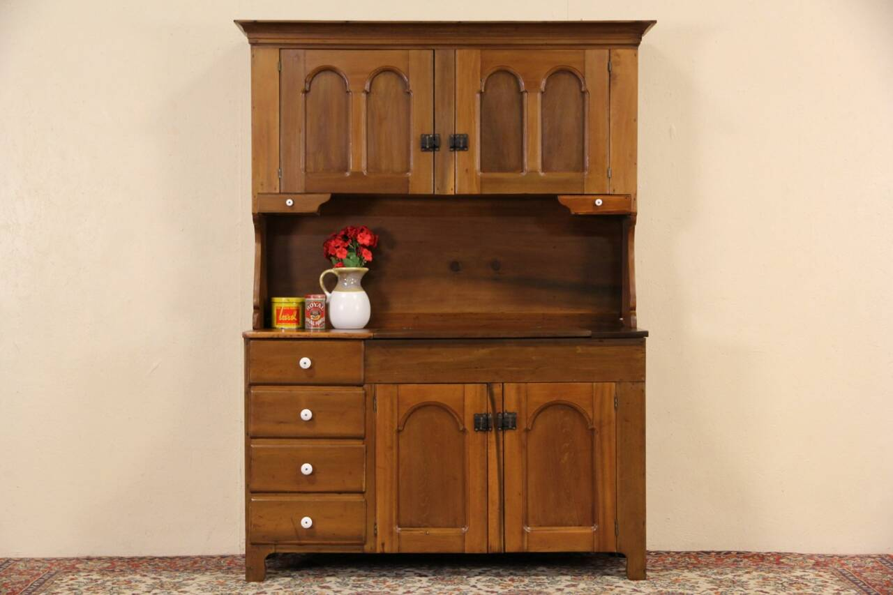 Country Pantry Cupboard Amp Dry Sink 1870 S Primitive