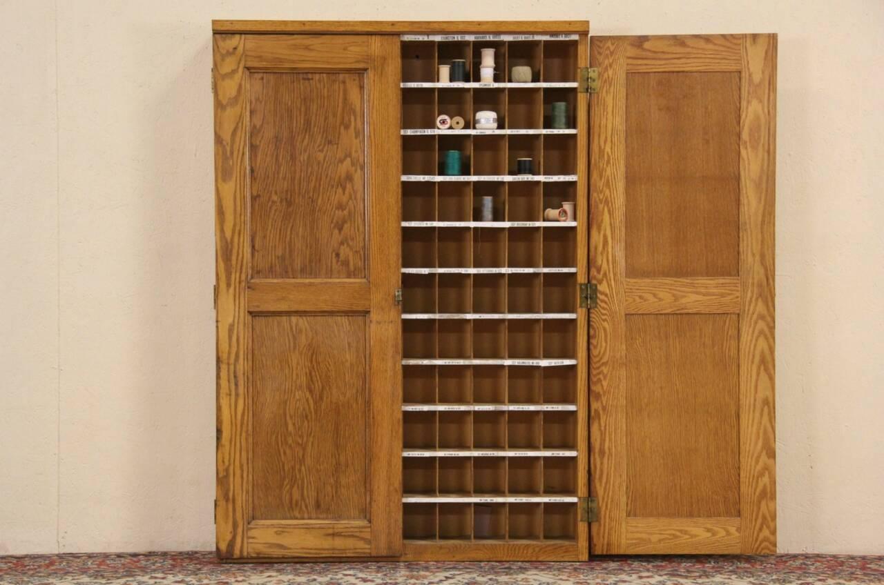 Mail Sorter Cabinet - 28 images - Post Office 1910 Antique Oak ...