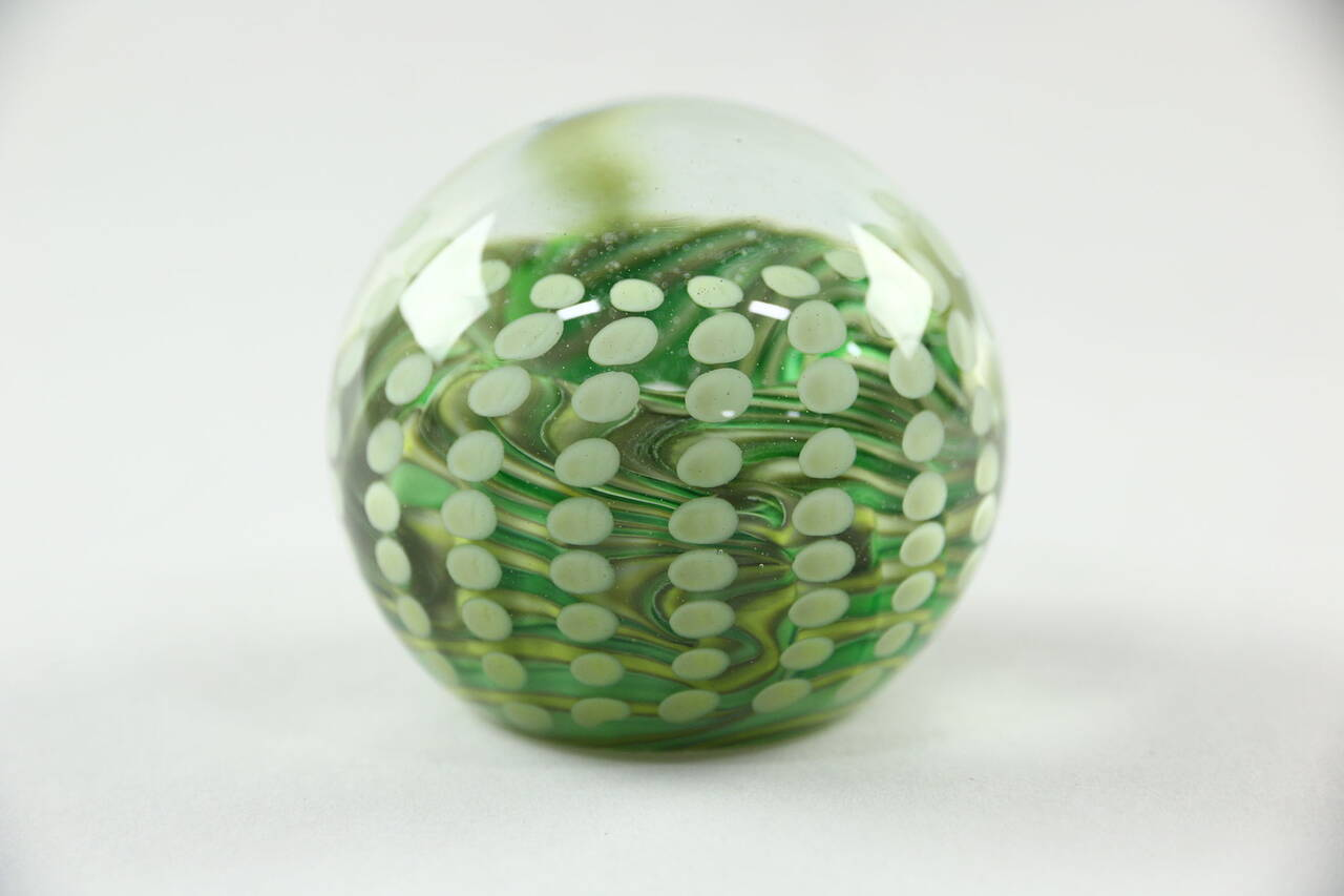 Jacques 1984 Blown Glass Paperweight Ebay