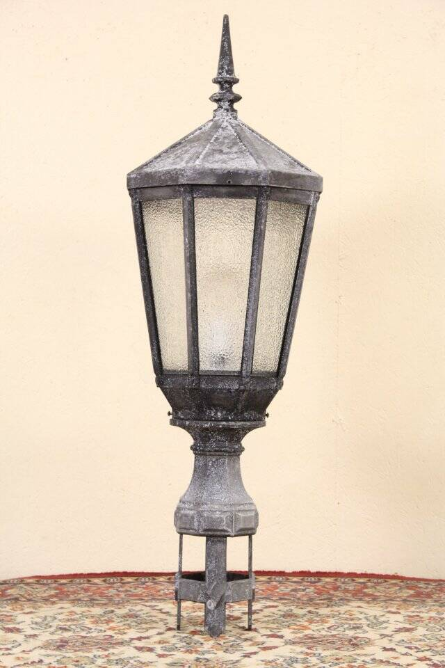 New York City Salvage 1920's Antique Street Light Lamp or ...