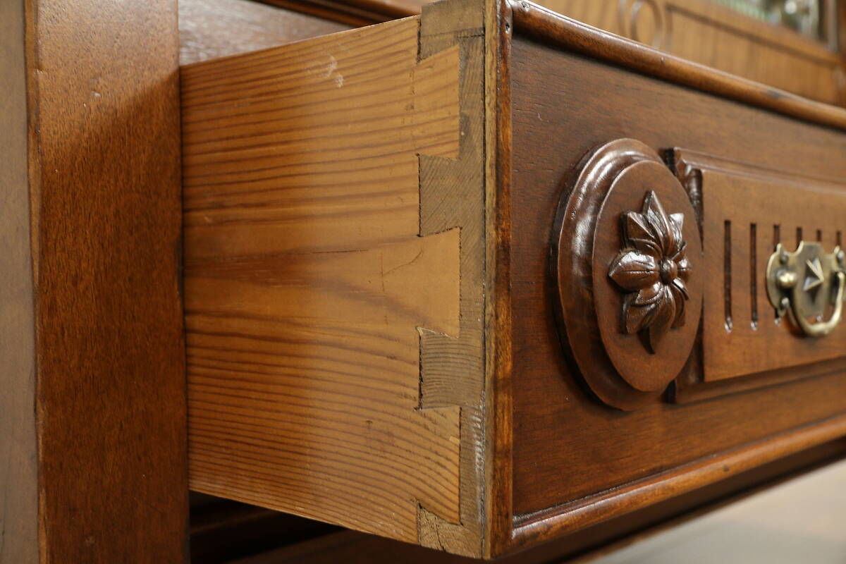 Walnut Antique Austrian Armoire Wardrobe Or Closet